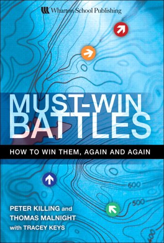 9780131990494: Must-Win Battles: How to Win Them, Again and Again