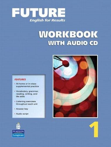9780131991477: Future 1:  English for Results,  Workbook with Audio CD