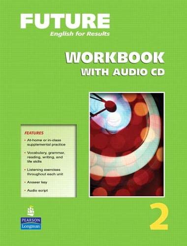 9780131991514: Future: English for Results, Level 2 - Workbook (Book & CD)