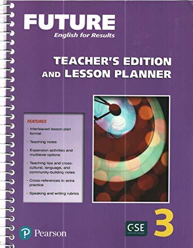 Teacher Edition & Lesson Planner: unspoken