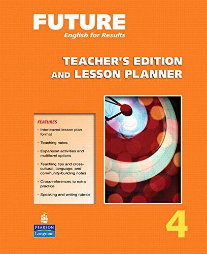 9780131991576: Future 4 te & lesson planner