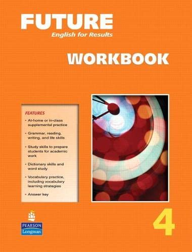 9780131991606: Future Level 4: English for results, Workbook