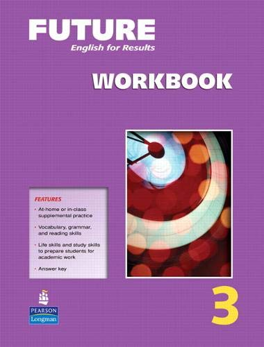 9780131991613: Future Level 3: English for results, Workbook