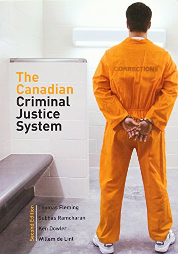 9780131992467: The Canadian Criminal Justice System (2nd Edition)