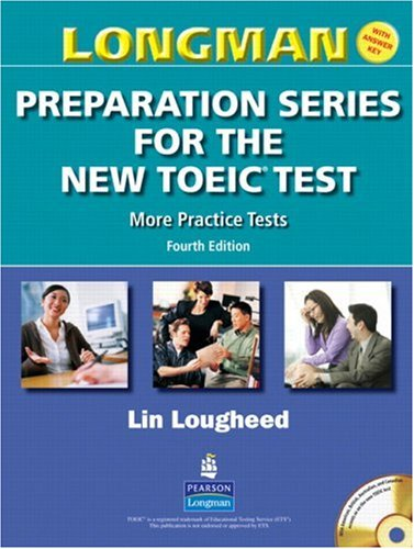 9780131993068: Longman Preparation Series for the New Toeic Test: More Practice Tests (with Answer Key and Audioscript)