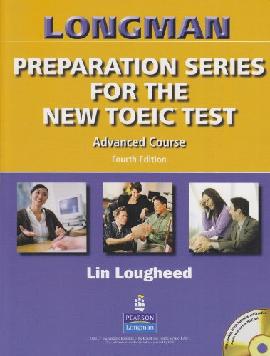 9780131993112: Longman Preparation Series for the New TOEIC Test: Advanced Course Student Book without Answer Key and Tape