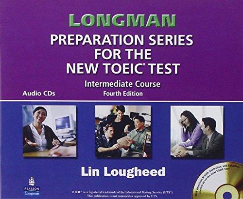 9780131993136: Longman Preparation Series for the New TOEIC Test Intermediate Course: Complete Audio Program