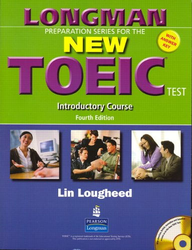 9780131993198: Longman Preparation Series for the New TOEIC Test: Introductory Course (with Answer Key), with Audio CD and Audioscript