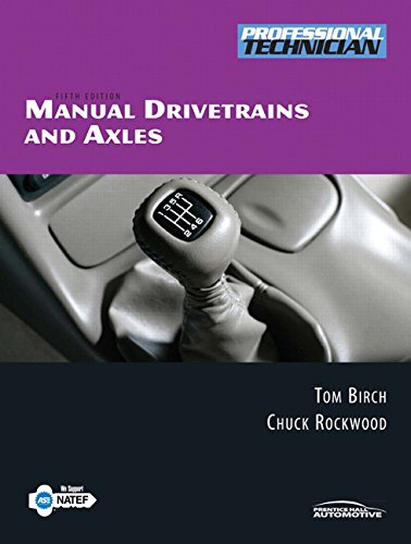 9780131994058: Manual Drivetrains and Axles (5th Edition)