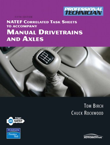 9780131994065: NATEF Correlated Task Sheets for Manual Drivetrains and Axles (5th Edition)