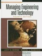 9780131994218: Managing Engineering and Technology: An Introduction to Management for Engineers (Prentice Hall International Systems in Industrial and Systems Engineering)