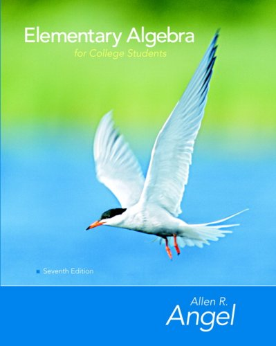 9780131994577: Elementary Algebra for College Students