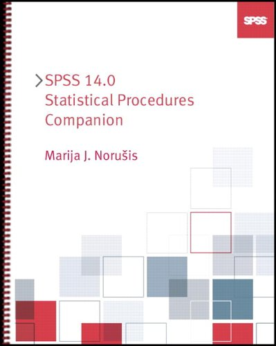 9780131995277: SPSS 14.0 Statistical Procedures Companion