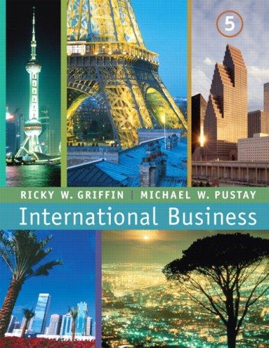9780131995345: International Business (5th Edition)