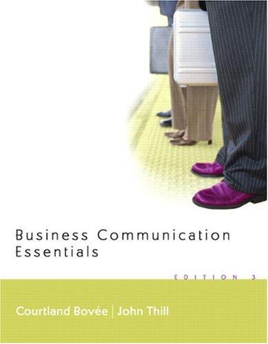 9780131995369: Business Communication Essentials