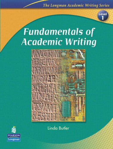 9780131995574: Fundamentals of Academic Writing (The Longman Academic Writing Series, Level 1)