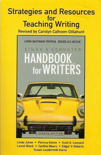 9780131996205: Strategies for Resources & Writings (For Simon & Schuster Handbook for Writers)