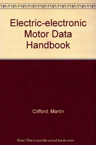 9780131996960: Electric/Electronic Motor Data Book