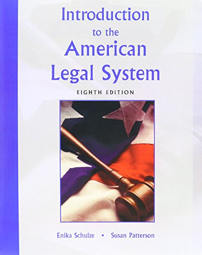 9780131997578: Texas Courts with Introduction to the American Legal System (8th Edition)