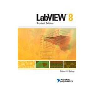 9780131999183: LabVIEW 8: Student Edition