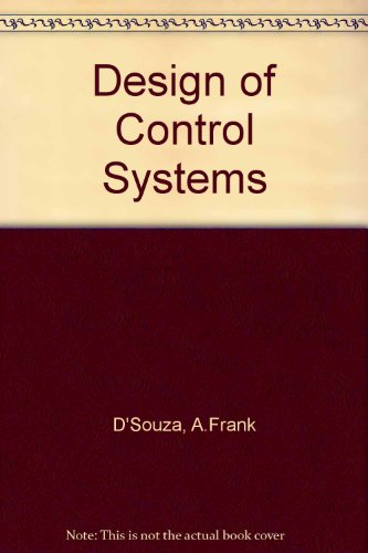 9780131999510: Design of Control Systems