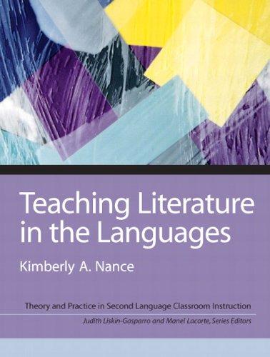 9780131999756: Teaching Literature in the Languages