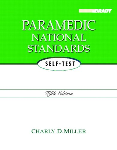 9780131999879: Paramedic National Standards Self-Test (5th Edition)