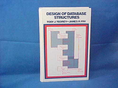 9780132000970: Design of Data Base Structure (Prentice-Hall software series)