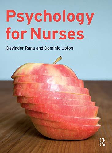 9780132001076: Psychology for Nurses