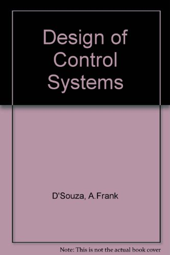 9780132001304: Design of Control Systems