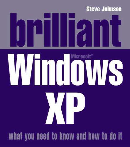 9780132001359: Brilliant Windows XP
