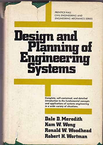 9780132001960: Design and Planning of Engineering Systems (Civil engineering and engineering mechanics series)