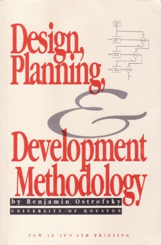 9780132002462: Design, Planning and Development Methodology
