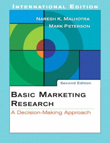 9780132003278: Basic Marketing Research: AND SPSS 13.0 Student CD: A Decision-Making Approach