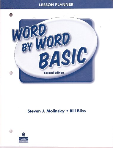 9780132003568: Word by Word Basic Picture Dictionary Lesson Planner