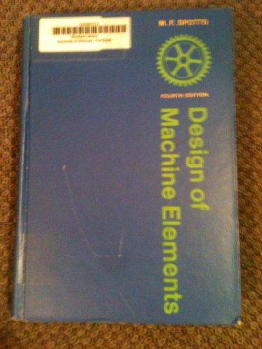 9780132005500: Design of Machine Elements
