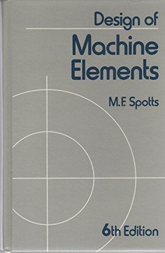 9780132005937: Design of Machine Elements