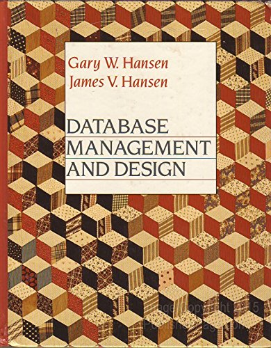 9780132007597: Database Management and Design