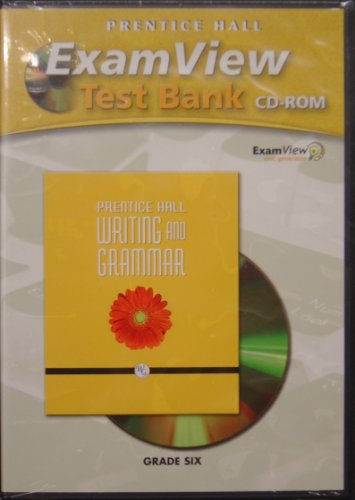 9780132008945: PRENTICE HALL WRITING AND GRAMMAR COMPUTER TEST BANK GRADES 6 2008C