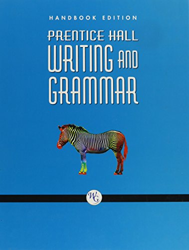 9780132009973: PRENTICE HALL WRITING AND GRAMMAR HANDBOOK GRADE 7 2008C
