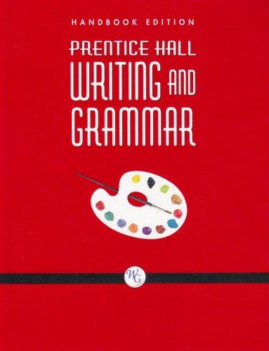 9780132009980: Prentice Hall Writing and Grammar Handbook Grade 8 2008c