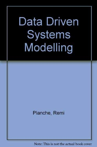 9780132011792: Data Driven Systems Modelling
