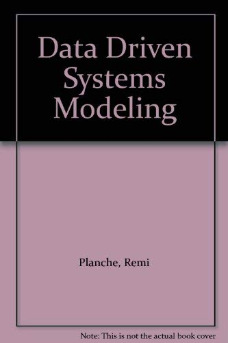 9780132011877: Data Driven Systems Modeling