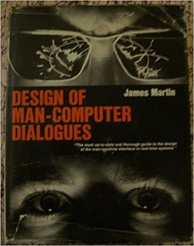 9780132012515: Design of Man/Computer Dialogue (Prentice-Hall series in automatic computation)