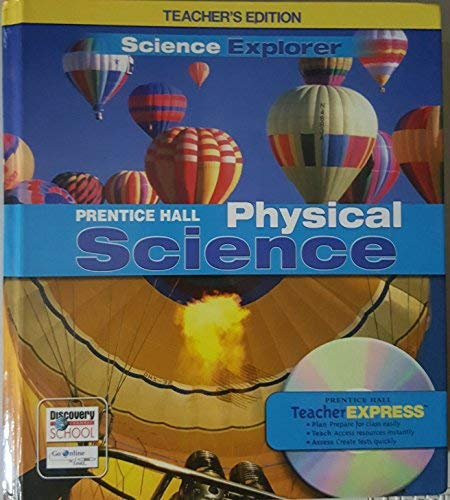 9780132012539: Teacher's Edition Science Explorer Prentice Hall Physical Science