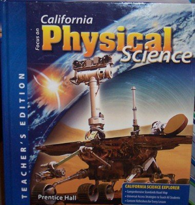 Focus On Physical Science (CA) (TE): David V. Frank