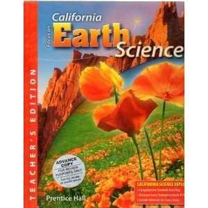 9780132012751: Focus on Earth Science - California, Teacher's Edition