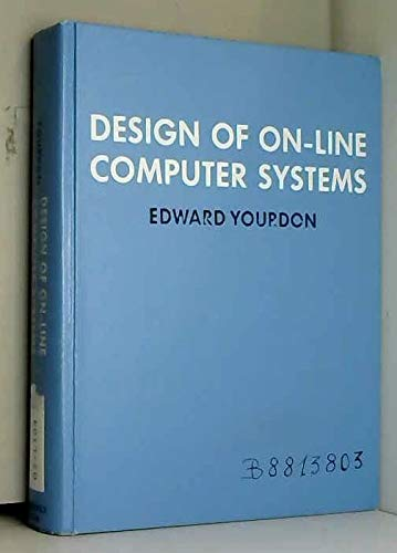 9780132013017: Design of On-line Computer Systems (Automatic Computation)