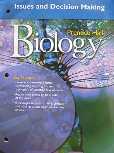 9780132013581: MILLER LEVINE BIOLOGY ISSUES AND DECISION MAKING 2008C