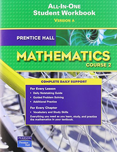 9780132013949: Prentice Hall Mathematics Course 2 All-in-one Student Workbook version A